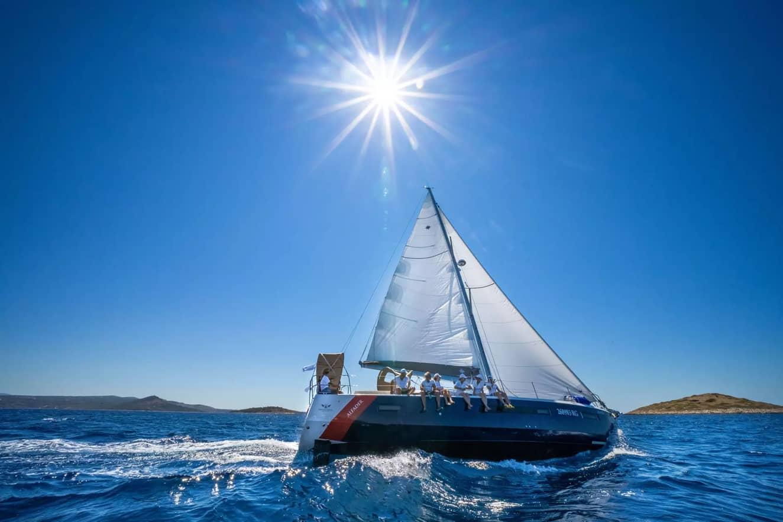 Family Enjoying Yacht Chater Vacation Package | Sebastus Sailing