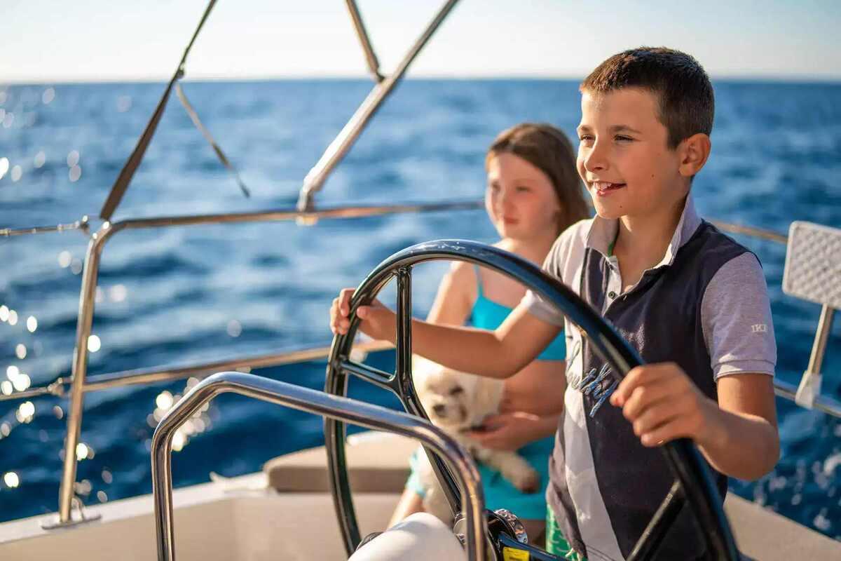 Kids Enjoying Family Sailing Vacation | Sebastus Sailing