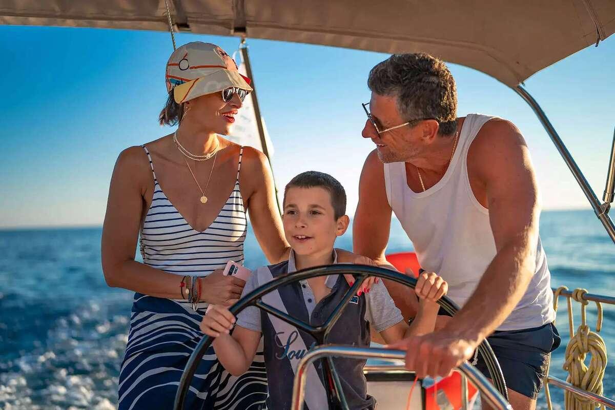 Parents Sailing With Kids | Sebastus Sailing