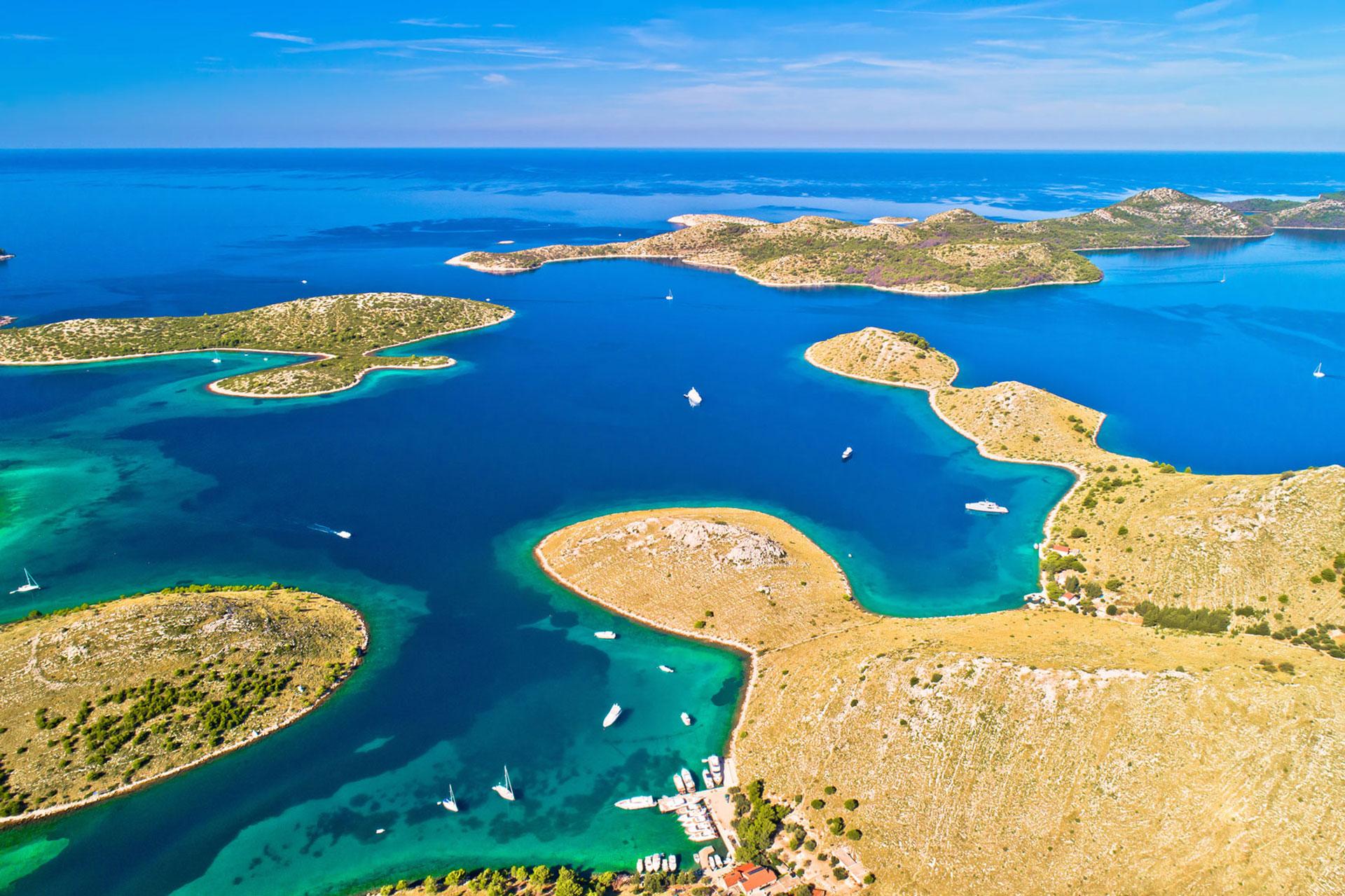 Primošten Holiday Sailing | Kornati sailing route | Family Sailing Holidays | Yacht Charter Croatia | Sabastus Sailing
