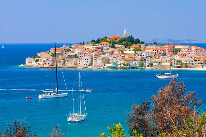 Primošten Route | Family Sailing Holidays | Yacht Charter Croatia | Sabastus Sailing