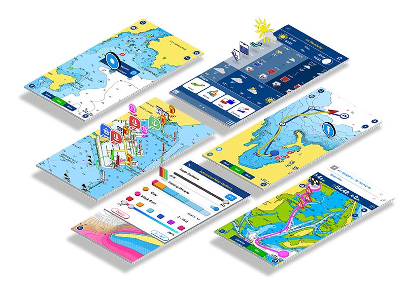 Sebastus, sailing apps