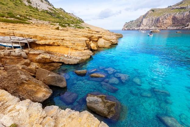 Majorca Cala Figuera Strand